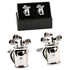 Golf Bag Cufflinks by Harvey Makin