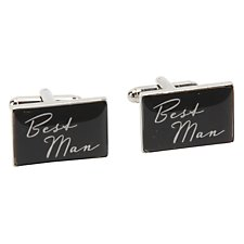 Amore by Juliana Best Man Metal Cufflinks