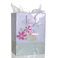 Bridesmaid Floral Gift Bag
