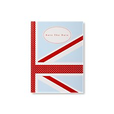 Cool Britannia Save the Date Card