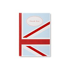 cool britannia wedding thank you cards