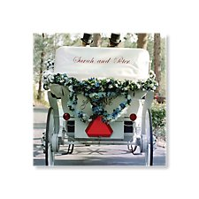 Wedding Carriage Day Invitation