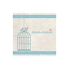 Birdcage Day Invitation
