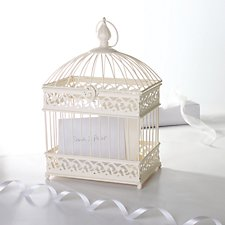 Birdcage Wedding Post Box