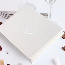 Linked at the Heart Guest Book (Personalised)