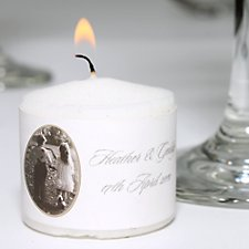 Young Love Votive Candles (Personalised)