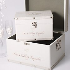 Luggage Keepsake Boxes (Set of 2)