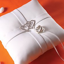 Heart Ring Pillow