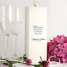 228mm Personalised Candle
