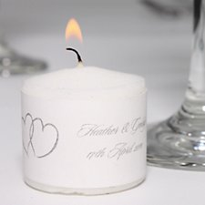Linked at the Heart Votive Candles