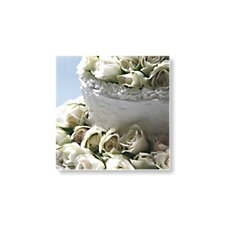 wedding cake save the date cards