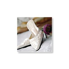 bridal shoes thank you card
