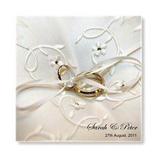 Wedding Rings Day Invitation
