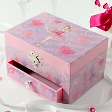Musical Ballerina Jewellery Box