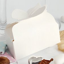Bow Closure Favour Boxes - Blank