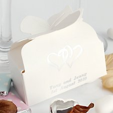 Bow Closure Favour Boxes (Personalised)