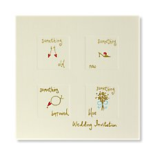 Something New Wedding Invitation Pack