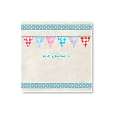 Bunting Day Invitation