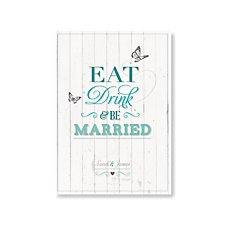 Eat, Drink & Be Married Day Invitation