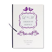 Ever After Order of Service