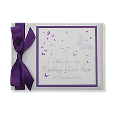 Flutterby Guest Book (Personalised)