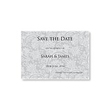 Graceful Save the Date Card
