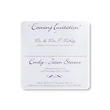 Kensington Evening Invitation