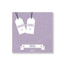 Knot Menu Card