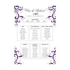 Liria A2 Table Plan