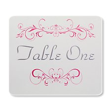 Lucy Table Card