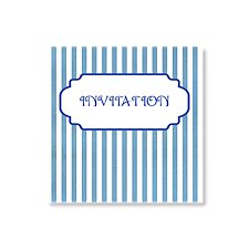 Stripey Day Invitation