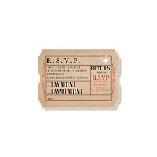 Ticket to Love Reply Card