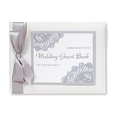 Victoria Guest Book (Personalised)
