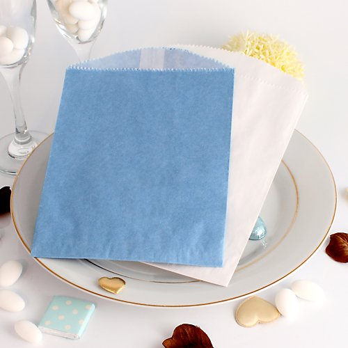 Personalised Blue Cake Bags