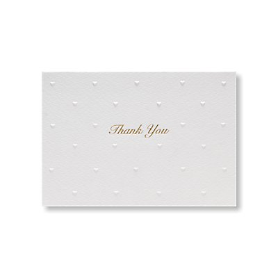 Pearlesque Thank You Card